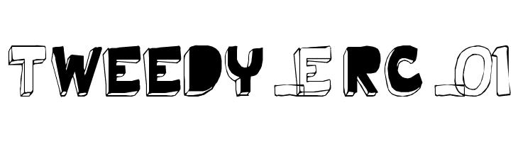 Tweedy_Erc_01  Free Fonts Download