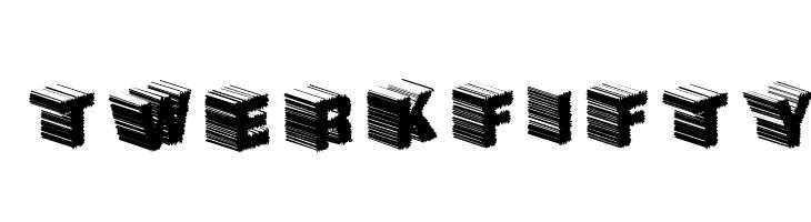 TwerkFifty  Скачать бесплатные шрифты