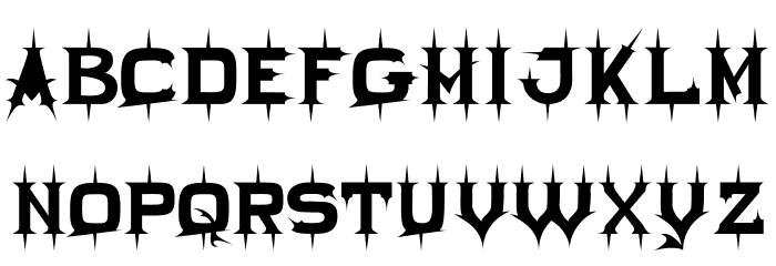 Twikling Regular Font UPPERCASE