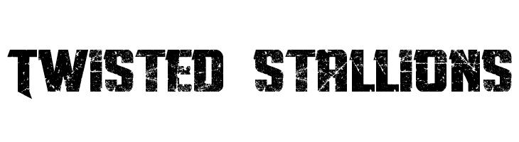Twisted Stallions  baixar fontes gratis