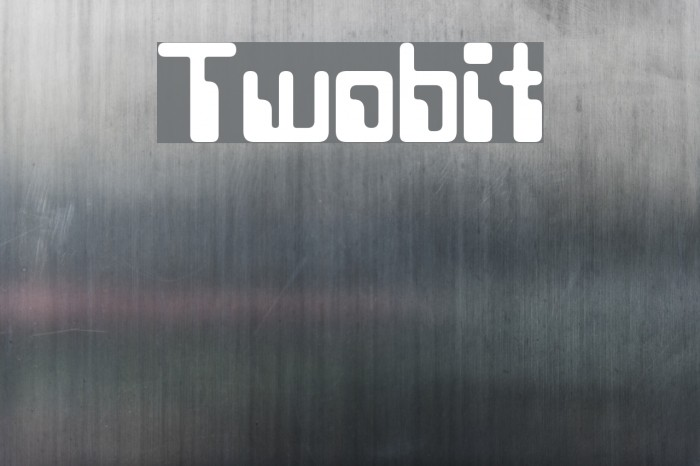Twobit Font examples