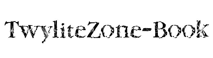 TwyliteZone-Book  Fuentes Gratis Descargar