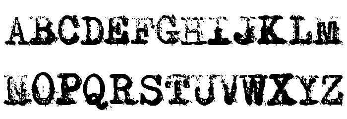Typewriter - Remington RIVIERA Fuentes MAYÚSCULAS