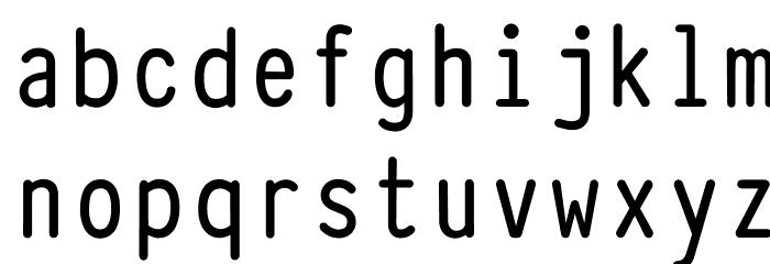 Typewriter_Condensed_Demi Fonte MINÚSCULAS
