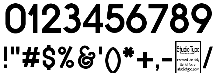 Typo Grotesk Bold Font OTHER CHARS