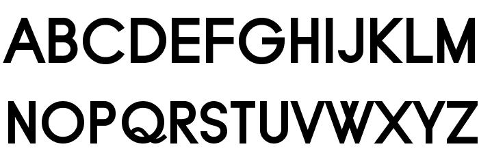 Typo Grotesk Bold फ़ॉन्ट अपरकेस