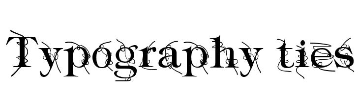 Typography ties  Fuentes Gratis Descargar