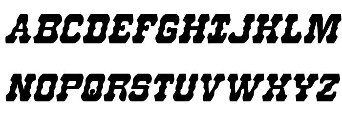 U.S. Marshal Condensed Italic Шрифта ВЕРХНИЙ