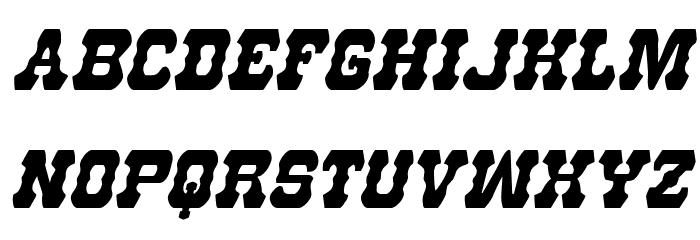 U.S. Marshal Condensed Italic फ़ॉन्ट लोअरकेस