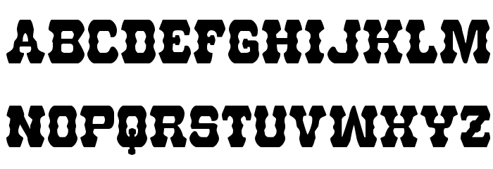 U.S. Marshal Condensed Font LOWERCASE