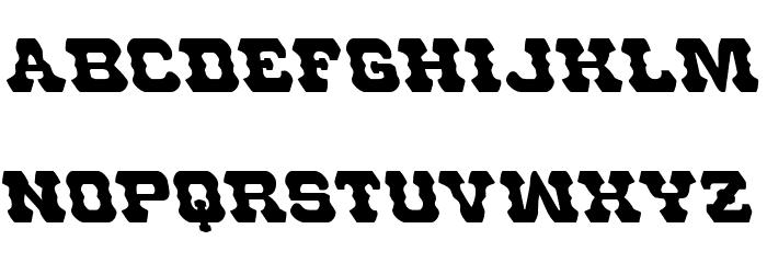 U.S. Marshal Leftalic Шрифта строчной