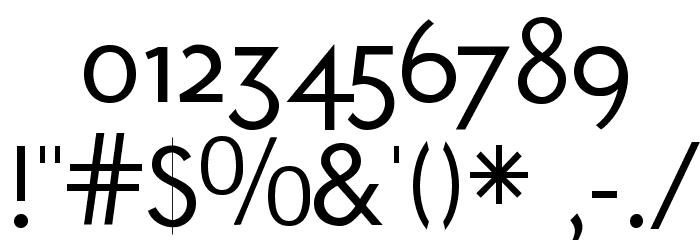 Ubahn-Light Шрифта ДРУГИЕ символов