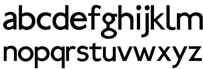 Ubahn Font LOWERCASE
