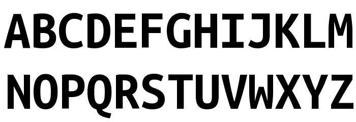 Ubuntu monospaced bold font