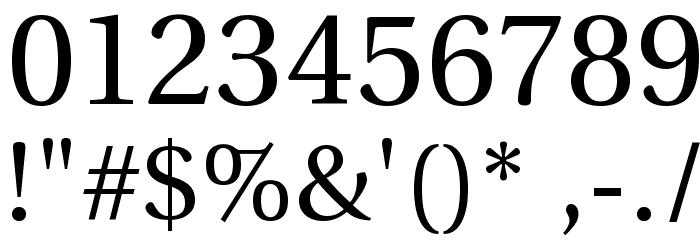 UHo�iH 1.1 Шрифта ДРУГИЕ символов