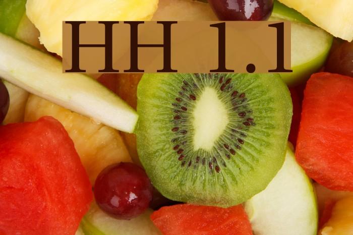 UHo�iH 1.1 Шрифта examples