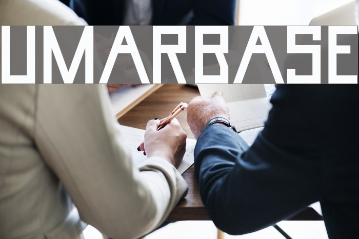 UmarBase Font examples