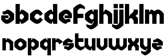 Uncopyrightable Шрифта строчной