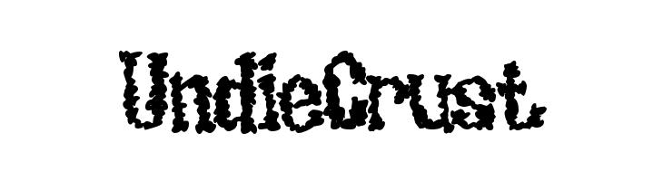 UndieCrust  Free Fonts Download
