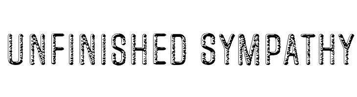 Unfinished Sympathy  नि: शुल्क फ़ॉन्ट्स डाउनलोड