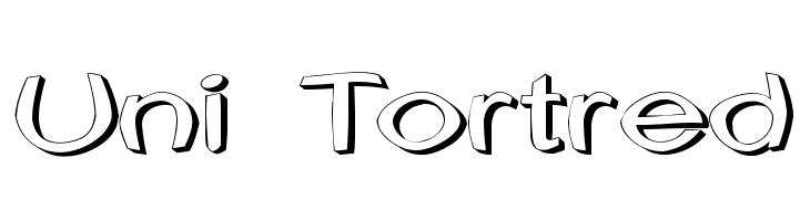 Uni Tortred  नि: शुल्क फ़ॉन्ट्स डाउनलोड