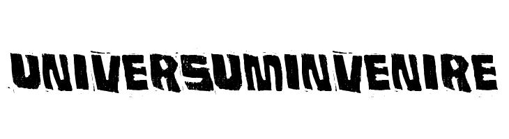 Universum Invenire  नि: शुल्क फ़ॉन्ट्स डाउनलोड