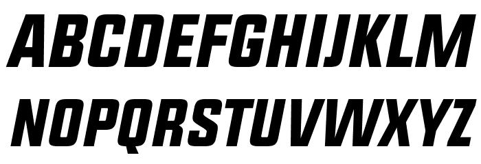 UPBOLTERS Italic Font LOWERCASE
