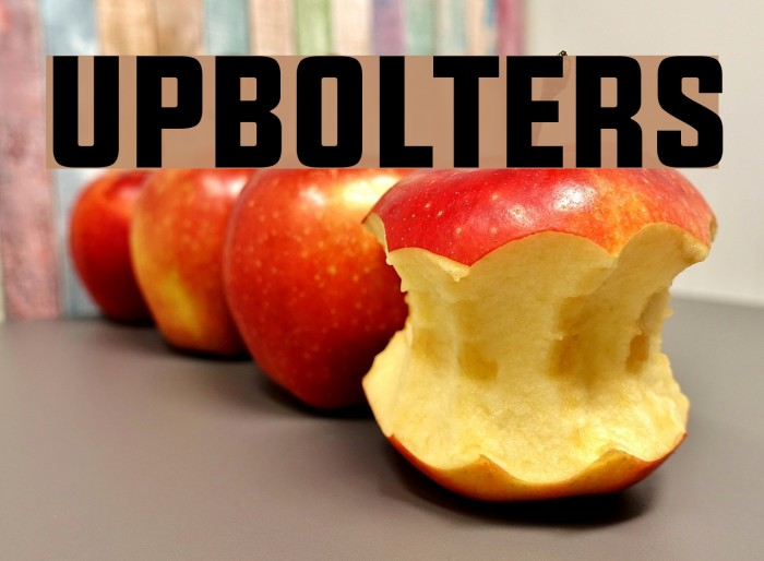 UPBOLTERS フォント examples