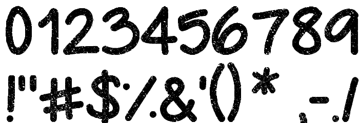 Urban Class Font OTHER CHARS