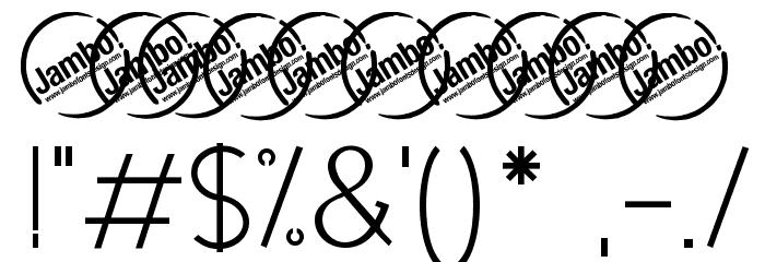 UrbanElegance Шрифта ДРУГИЕ символов