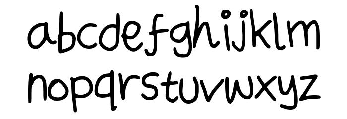 UsualSuspectScript Font Litere mici