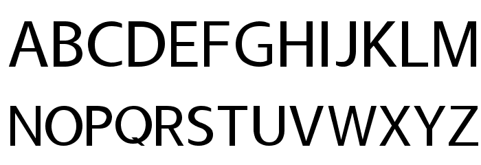 Usuality Font UPPERCASE