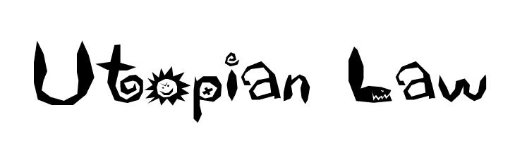 Utopian Law  Free Fonts Download