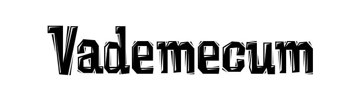 Vademecum  नि: शुल्क फ़ॉन्ट्स डाउनलोड