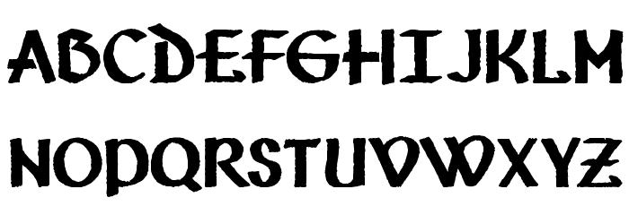 Vafthrudnir Font Litere mari