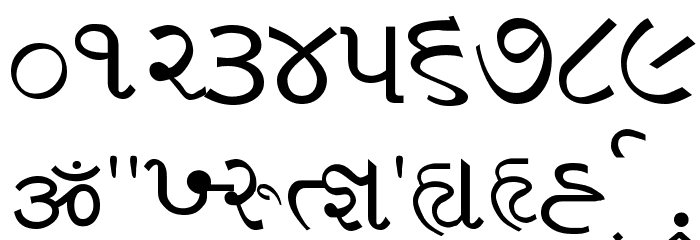 Vakil_01 Font OTHER CHARS