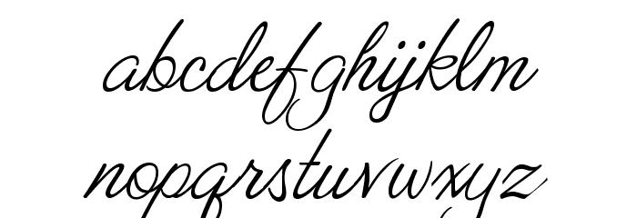 ValentinaJF Font LOWERCASE