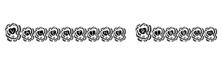 Valentine Ribbon  Free Fonts Download