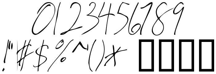 Valia Truelight Font OTHER CHARS