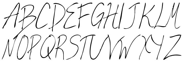 Valia Truelight Font UPPERCASE
