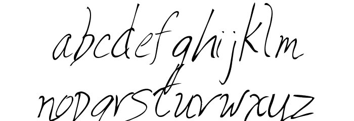 Valia Truelight Font LOWERCASE