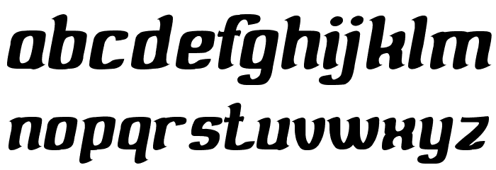 Valuable Font LOWERCASE