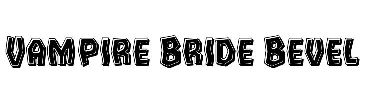 Vampire Bride Bevel  Free Fonts Download