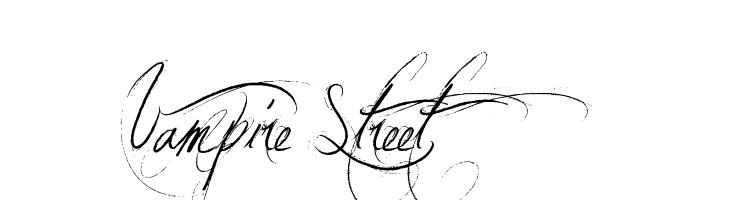 Vampire Street  免费字体下载