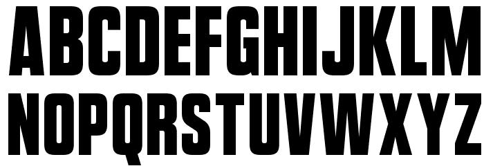 VanchromeFront-Regular Fonte MINÚSCULAS