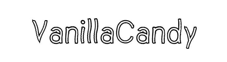 Vanilla Candy  Free Fonts Download