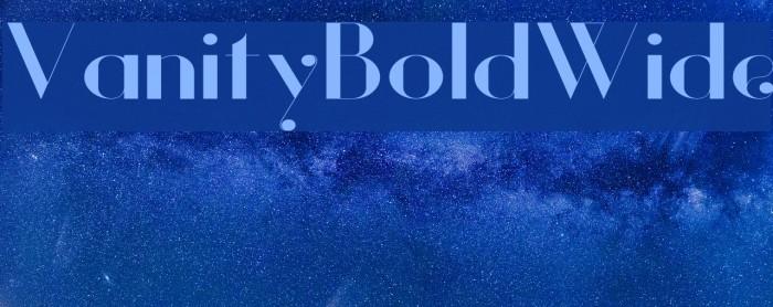 Vanity-BoldWide Fuentes examples