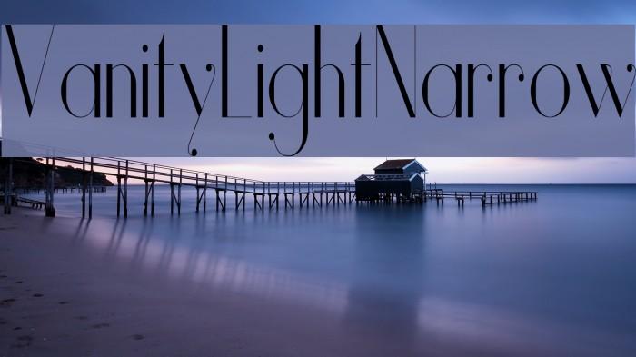 Vanity-LightNarrow Fuentes examples