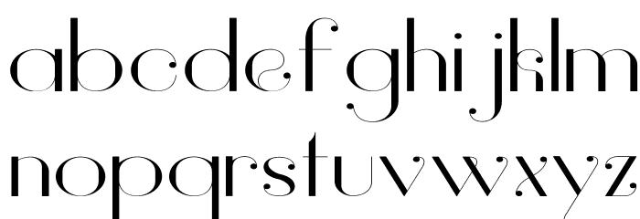 Vanity-LightWide Fuentes MINÚSCULAS
