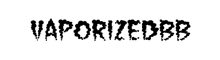 VaporizedBB  Free Fonts Download